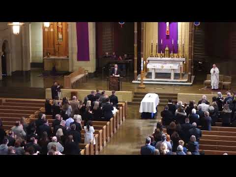 Funeral for Syracuse football All-American Chris Gedney