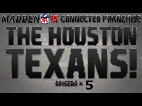 Madden 15 Houston Texans Connected Franchise | Texans vs Ravens | Badddddddddd Josh Freeman