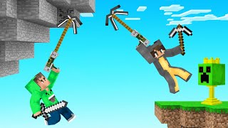 HUNTERS vs SPEEDRUNNERS With GRAPPLE HOOKS! (Minecraft)