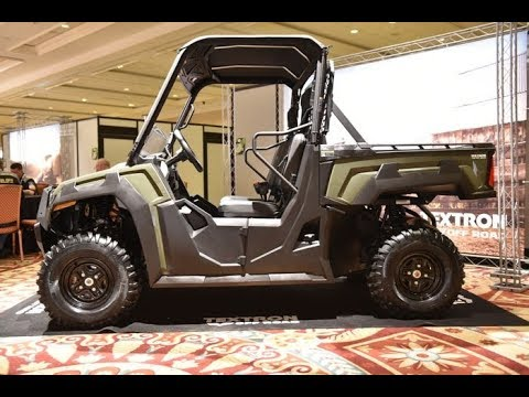2018 Prowler Pro Side By Side From Textron Off Road Youtube
