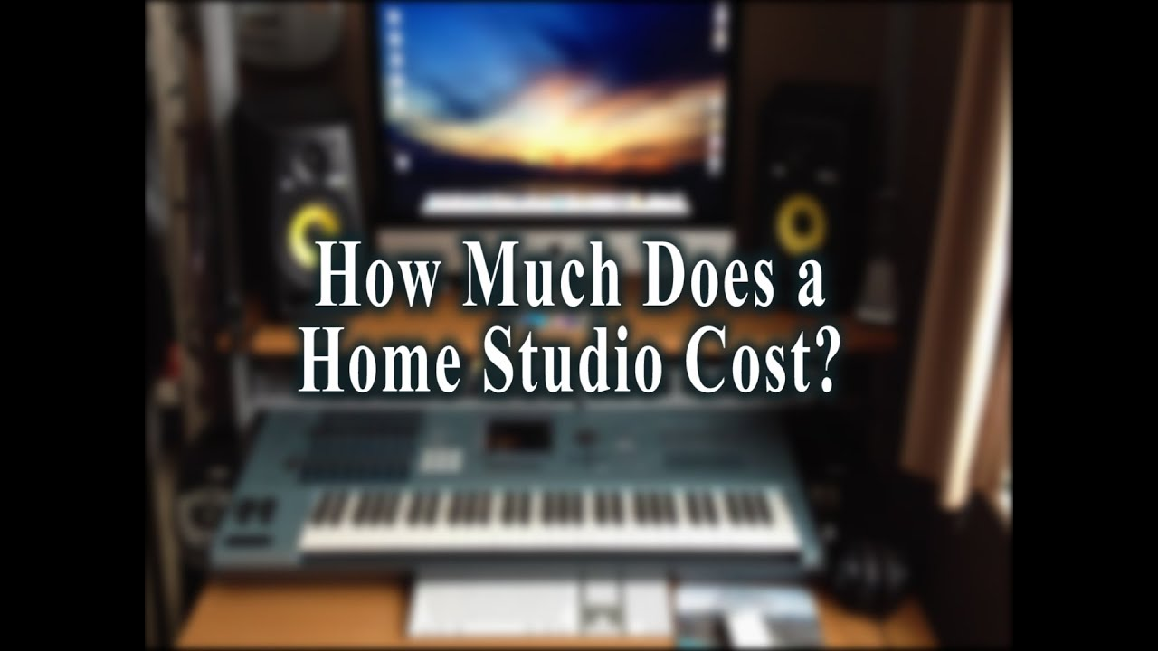 How Much Does A Home Studio Cost Hardware Only  YouTube