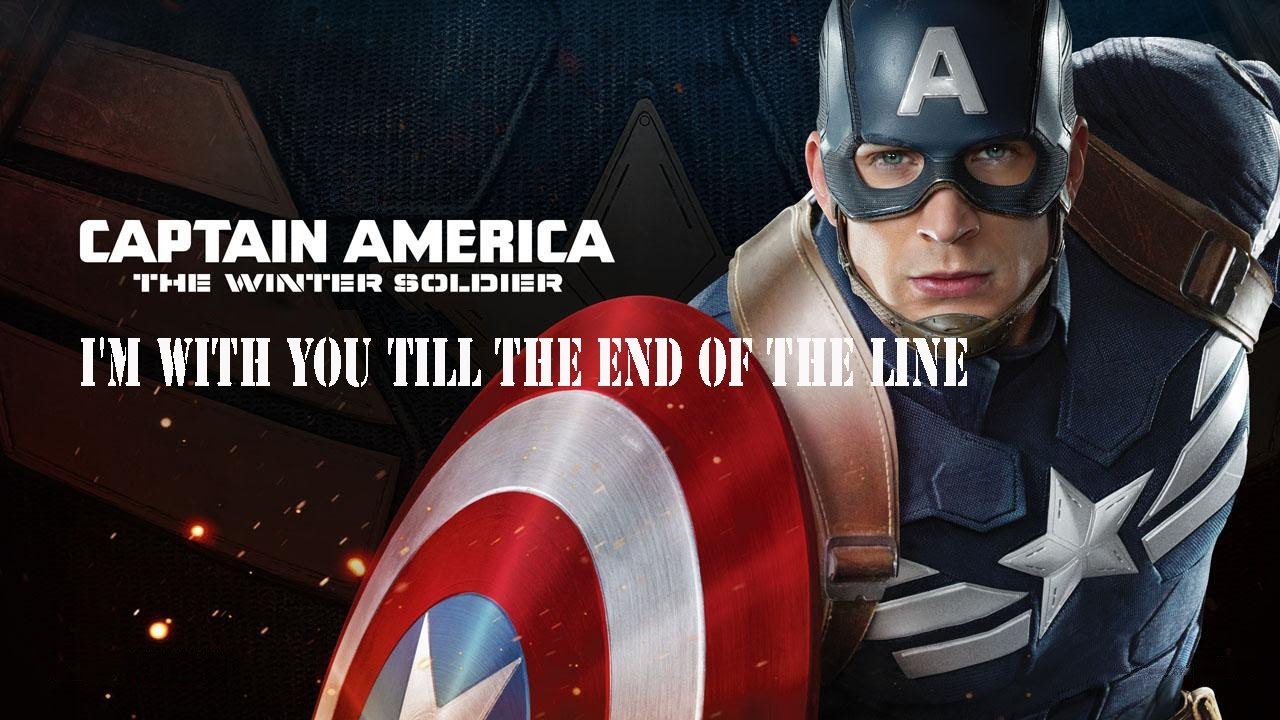 I'm with you till the end of the line || Steve & Bucky ...