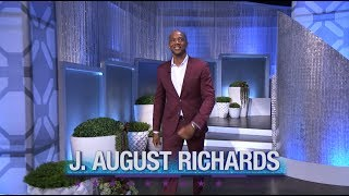 Thursday on 'The Real': J. August Richards Spins the Heel!