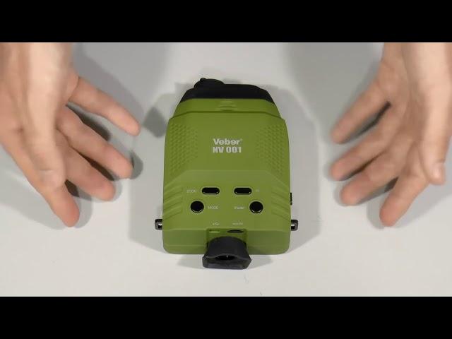 Цифровой монокуляр ночного видения ПНВ  Digital Night Vision Veber NV 001