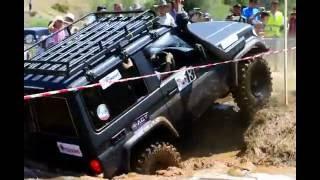 Внедорожники в грязи. Toyota Prado на джип-триале
