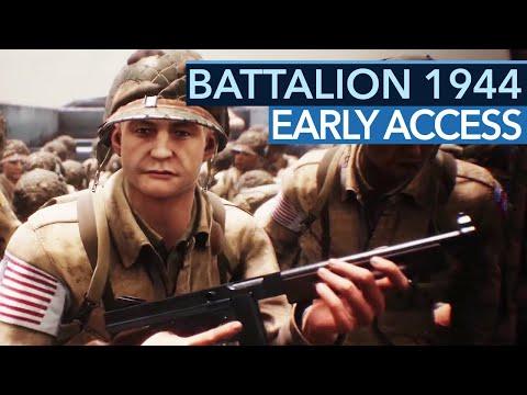 Battalion 1944 im Early Access Test - Kein toller Start für den Shooter