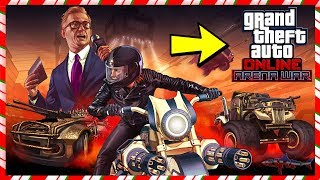 🔴 *NEW* GTA 5 ONLINE ARENA WARS DLC NEW VEHICLES, PROPERTY'S & MORE COME JOIN IN