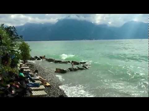 Leman Lake : Ocean WAVES in Montreux Jazz Festival