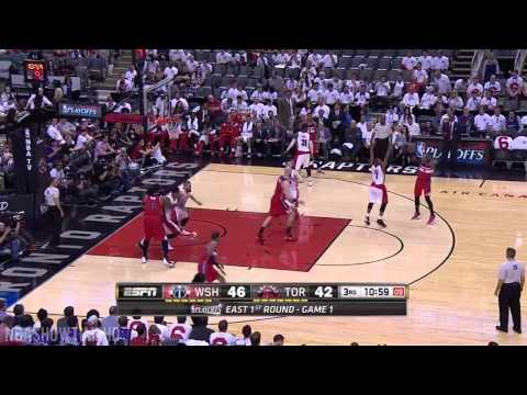 Wizards vs Raptors - Full Game Highlights | Game 1 | April 18, 2015 | 2015 NBA Playoffs HD