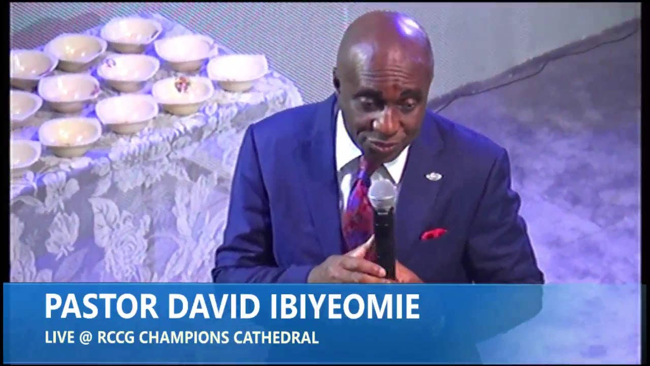 Download Anointing To Break Forth By  Pastor David Ibiyeomie @ 7 Days Of Glory