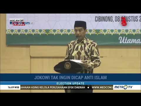Jokowi Heran Dituding Anti-Islam