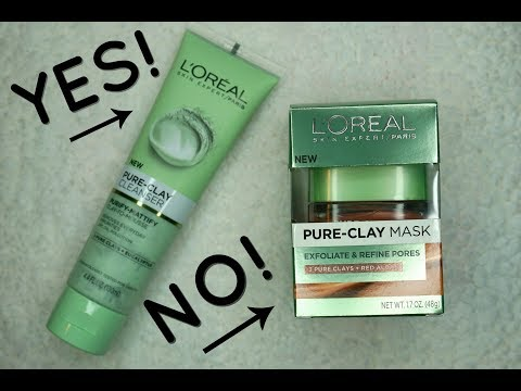 WHY I RETURNED THE LOREAL PURE CLAY EXFOLIATE AND REFINE CLAY MASK | eye child