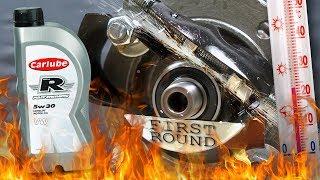 Carlube Triple R 5W30 Jak skutecznie olej chroni silnik? 100°C