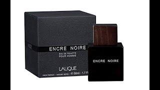 Lalique Encre Noire Fragrance review (2006)