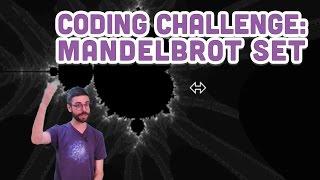 Coding Challenge #21: Mandelbrot Set with p5.js