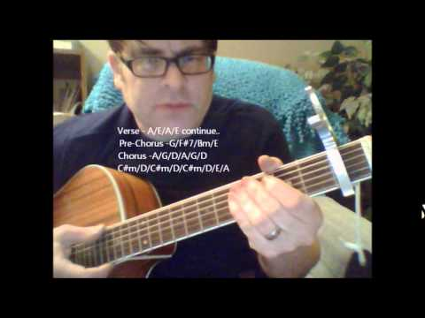 """How to play """"Cheers"""" theme song on acoustic guitar"""