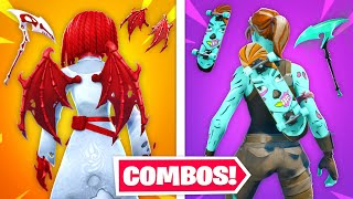 Top 10 Most INSANE Fortnite Skin Combos IN CHAPTER 2!