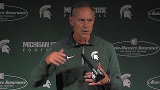 Mark Dantonio on Big Ten conference play