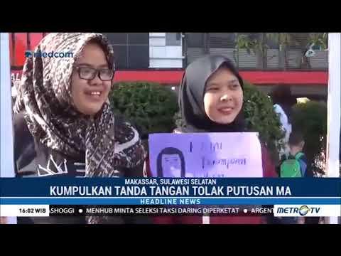 VIRAL !!!! Video Warga Dan Aktivis Beri Dukungan Untuk Baiq Nuril