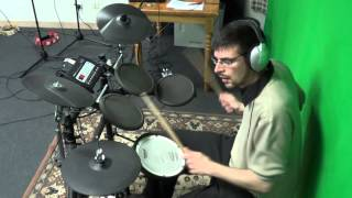 drive a real hero college electric youth drum cover