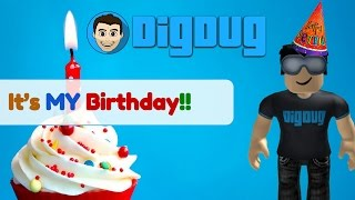 It's My Birthday! Let's celebrate with some Roblox!