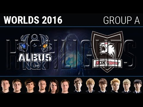 Albus NoX Luna vs ROX Tigers, Highlights, S6 World Championship 2016 Week 2  Group A Day 5, ANX vs RO