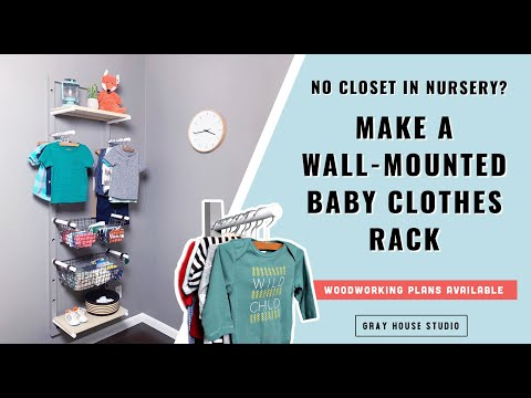 Baby Clothes Rack - Baby Clothes Storage For Small Spaces