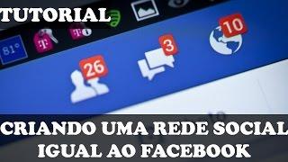 البرنامج التعليمي - Criar ريدي الاجتماعية يساوي أو Facebook (2017)