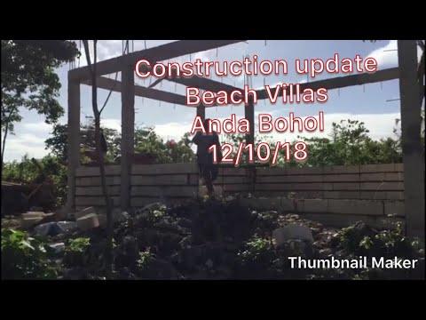 Construction update Anda Bohol