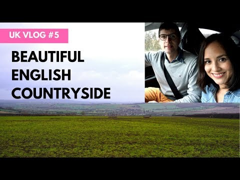 The Chilterns: Driving across the English Countryside  | UK VLOG #5