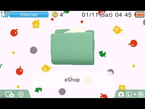 [3DS Themes] Animal Crossing Themes (Oct. 30)