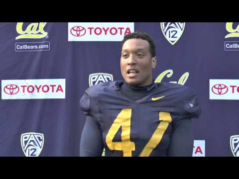 Cal Football Spring Practice 4/11/16: Hardy Nickerson