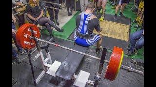 Юрий Тарбонов. Турнир «Akson Bench press Fury» 260кг. в/к 100кг.