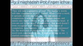 PARAMAHAMSA SRI NITHYANANDA SWAMIJI AND HIS ENLLIGHTENMENT EXPERIENCE