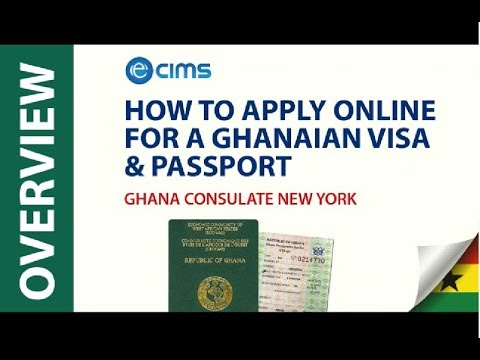 How To Apply For A Ghanaian Visa Or Passport Application At The Ghana Consulate New York