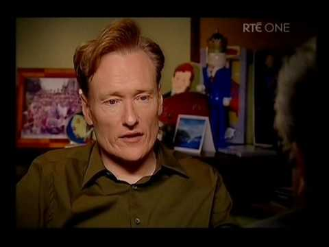 Conan O'Brien interview Part 1 - YouTube