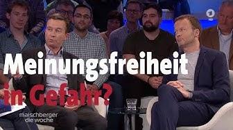 """Meinungsfreiheit in Gefahr? Bernd Lucke und Georg Restle bei """"maischberger. die woche"""" (23.10.19)"""