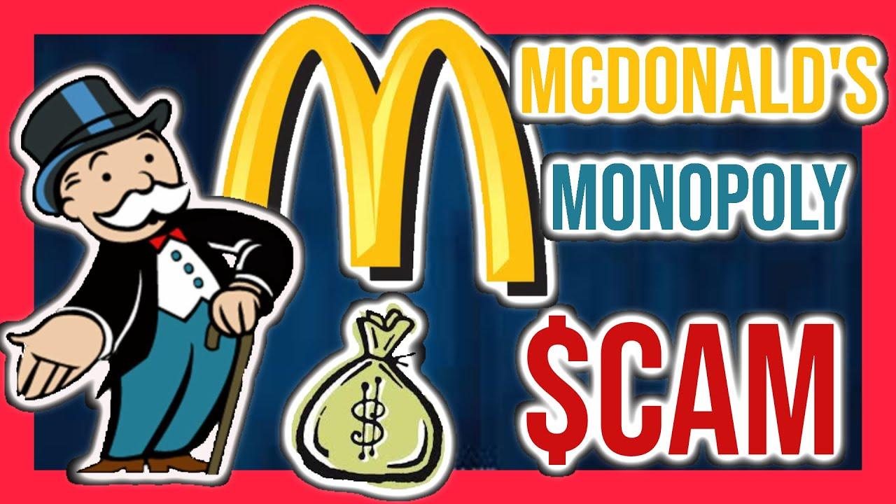 Download McDonalds Monopoly Scam; Fraud of the 90's