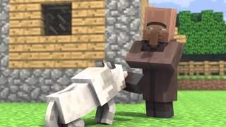 Minecraft Анимация,Мультик:Собака