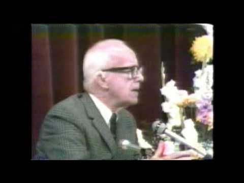 1/3. Buckminster Fuller and Maharishi Mahesh Yogi Part One of Press Conference