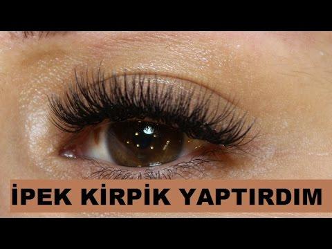 Kalıcı Kirpik Ekimi: İpek Kirpik Uygulaması