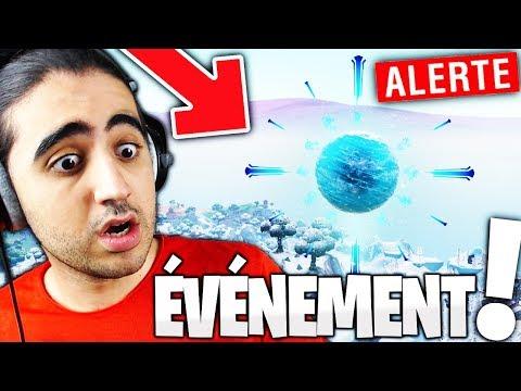 """🔴 ALERTE 20H00 """"L'ÉVÉNEMENT"""" ET LE RETOUR DU CUB Sur Fortnite ! // 2300+ TOP1"""