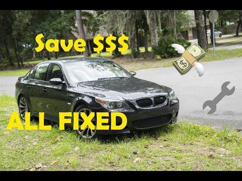 I SAVED $3K FIXING MY BMW M5!!! (Engine Fault Fix)