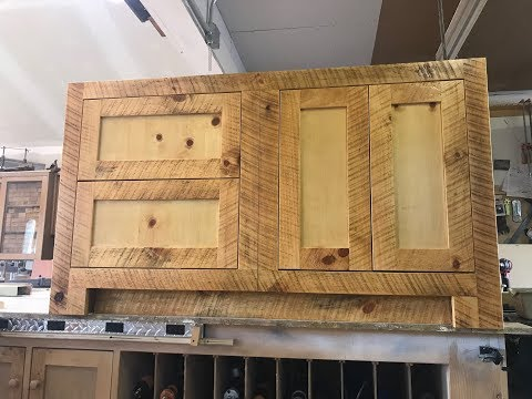 DIY Building an Outdoor Kitchen island Cabinet
