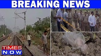 Blast Near Railway Track In Khalilabad - 3 Injured