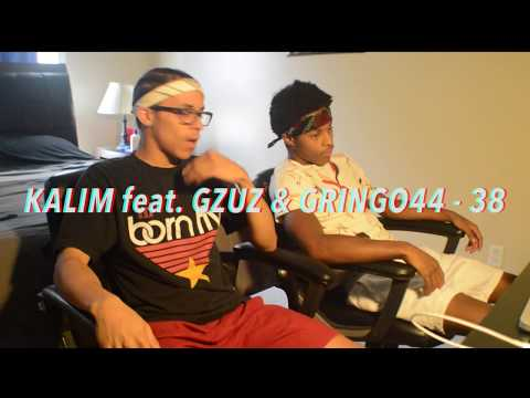 KALIM feat. GZUZ & GRINGO44 - 38 ► Prod. von David Crates (Official Video) REACTION w/FREESTYLE