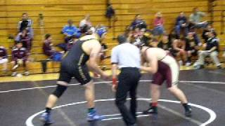 Justin Kanson 12/17/11 match 2 OPHS wrestling