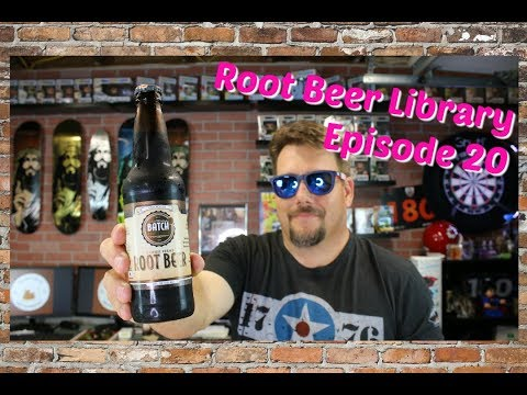 Root beer review of Batch Craft Brown Sugar Root Beer on Episode 20 of Root Beer Library