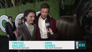 Timothée Chalamet and Armie Hammer best friends