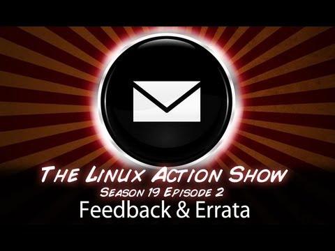 Feedback & Errata #1   LAS   S19e02